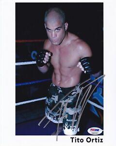 UFC MMA Legend Tito Ortiz autographed signed 8x10 photo PSA/DNA AUTHENTIC