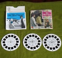 Complete Viewmaster The Mod Squad 3 Reel Set w/ Booklet, 1 Sleeve & Envelope