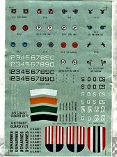 MICROSCALE DECAL 72-21 - 1/72 US. NAVY 1930/1941 - NUOVO