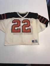 Game Worn Used Princeton Tigers Football Jersey #22 Rawlings Size L