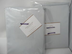 Pottery Barn Universal Blackout curtain liner 49.5x84 S/2