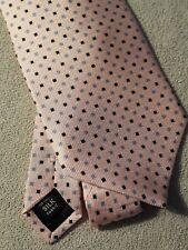 Izod mens ties 100% silk salmon pink new without tags