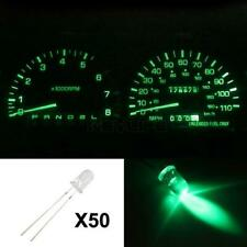 50x Green LED Light Kit Gauge Cluster Speedometer Miniature Diode Bulb for Chevy