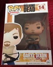 Brand New Funko Pop Walking Dead Daryl Dixon Crossbow # 14 Vinyl Figure NIB Mint