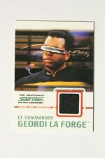 Star Trek The Next Generation Quotable TNG Costume Card C5 La Forge