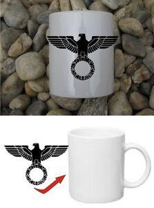 Reichsadler Kaffee Becher Tasse WH WWII WK2 Coffee Mug Eagle