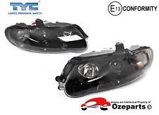 Pair LH+RH Altezza Projector Head Light Black For Holden Commodore VX VU