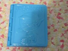 Modeling dough clay childrens mold passport with ship plane car mold cute toy