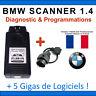Interface Diagnostique BMW Scanner V1.4 / K+DCAN / K-CAN / OBD2 OBDII / ELM327