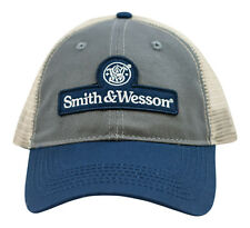 SMITH & WESSON *TRI-COLOR MESH* Logo TWILL HAT CAP *NEW* SW29