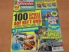 Computer Bild Spiele Sonderheft + DVD 100 Spiele GRATIS Ausgabe 1/2017 1A!
