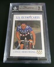 "(Lance Armstrong) 1992 IMPEL RC << BGS 9 >> ""U.S. Olympic Hopefuls"" #31"