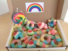Rainbow Box Hamper Sweets Lolly Birthday Present Gift