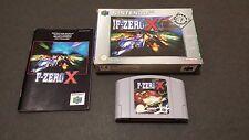 F-ZERO X, i giocatori scelta (Nintendo 64) Versione Europea PAL