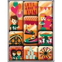Neu Geschenkbox Wonder Cookies 9-Teiliges Magnetset 83095