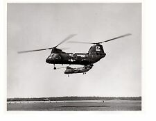 Boeing CH46 Sea Knights Marine Corps Helicopter Photograph 8x10 BW