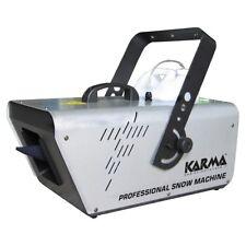 KARMA SNOW 1201 generatore effetto neve 1200w x feste party raggio azione 30mq