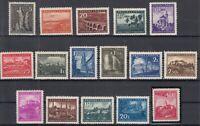 AA4718/ LJUBLJANA GERMAN OCC – MI # 45 / 60 COMPLETE MINT MNH – CV 535 $