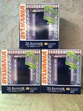 Sears Sylvania Lights 20 Ft Banner Syncromegamotion 111 Red/white/green Bulbs(3)