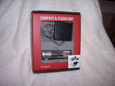 9 LED Flashlight and ABS Case Compass,Tandy brands