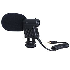 Movo VXR1000 Mini HD Shotgun Condenser Microphone for DSLR Video Camera