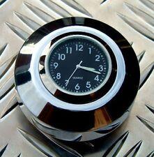 New British Made Harley FX Softail® & FXDWG® Billet Stem Nut Clock