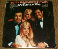 SANDLER & YOUNG The PRETTY THINGS COME IN TWOS 2's Vinyl Record LP 33rpm album