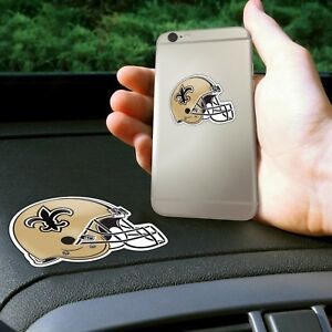 Fanmats NFL New Orleans Saints Get a Grip Cell Phone Grip Thick Polymer Stickers