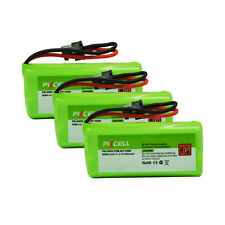 3pcs Cordless Home Phone Battery AAA*2 800mAh 2.4V for Uniden BT-1008 BT-1021