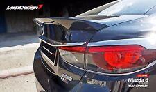 Mazda 6 2013-2017 Rear Trunk Spoiler Lenzdesign Performance UNPAINTED