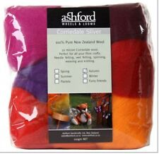 "FIBRE PACK  ""AUTUMN"" 7 colour pack of our popular 30 micron Corriedale RedOraPur"