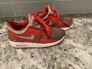 Nike Air Max Zero Essential Shoes Size Toddler #881227-003 - SIZE 9C Red Gray
