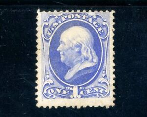 USAstamps Unused VF US 1870 Franklin Scott 145 NG