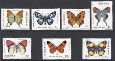 ANGOLA : 1982 Butterflies set SG 787-93 MNH