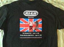 The Who T-Shirt 2000 95.5 KLOS Los Angeles - Pete Townshend Roger Daltrey