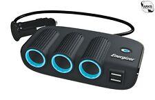 ENERGIZER 12V Triple 12V Socket Adaptor & Twin USB - 50505