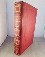 ALFRED FREDOL / LE MONDE DE LA MER / 1865 GRAVURES E.O.