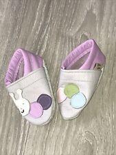 Neu: Krabbelschuh Lederschuh Babyschuh Lederpuschen Baby Gr. 18 Mädchen Schnecke