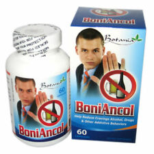 BoniAncol, 01 box x 60 capsules, Reduce Cravings Alcohol, Drug, Other Addictive