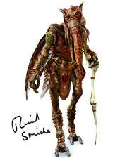 Richard Stride signed autógrafo 20x25cm Star Wars en persona Autograph Poggle coa