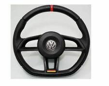 VW Golf Jetta Mk2 Mk3 Mk4 Steering Wheel Black Mk7 Style
