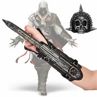Assassin's Creed 4 Flag Pirate Hidden Blade Edward Gauntlet Cosplay XMAS Gift US