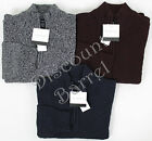 NWT Mens Calvin Klein Jeans Mock Neck Quarter Zip Pullover Sweater M L XL XXL