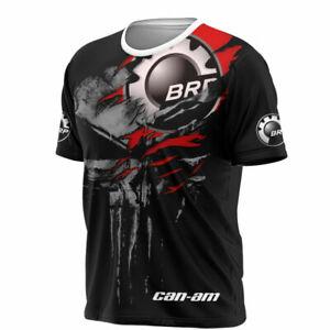 CAN AM-3D Full Printing T shirt