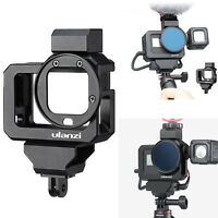 ULANZI G8-5 Vlog Frame Cage Case W/ 52MM Lens Filter for Gopro Hero 8 Camera