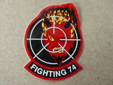 AUTOCOLLANT STICKER VF-74 US NAVY FIGHTER SQUADRON 74 FIGHTING 74 DEVIL DIABLE