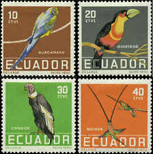 Ecuador Scott #634 - #637 complete Set of 4 Mint