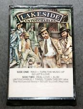 Lakeside: Untouchables. CASSETTE TAPE. Rare. Vintage. BRAND NEW!