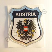 Aufkleber Wappen Österreich 3D Kfz-Aufkleber Österreich Emblem Motorrad Auto