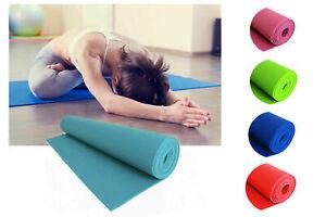 Tappetino yoga 4mm fitness allenamenti sport tappeto materassino 170x61